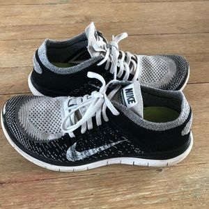 4bd21ddaf2a6 NIKE Free Flyknit 4.0 Running Shoes Sneakers.  28  125. Size  8 · Nike ·  jb929 jb929. Nike